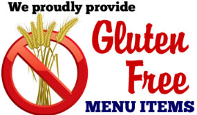 Gluten Free Menu Items