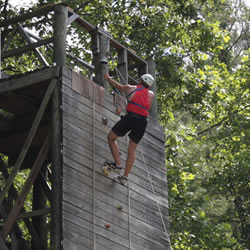 Rappelling and Climbing
